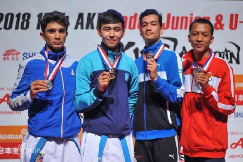 Атырауский каратист завоевал лицензию на юношеские Олимпийские игры