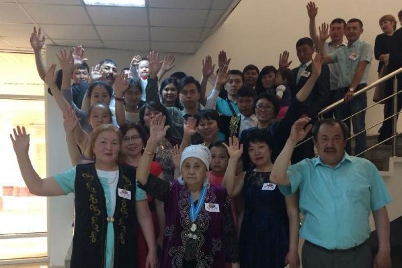 40 адамнан тұратын жанұя «Мерейлі отбасы» байқауында жеңімпаз атанды