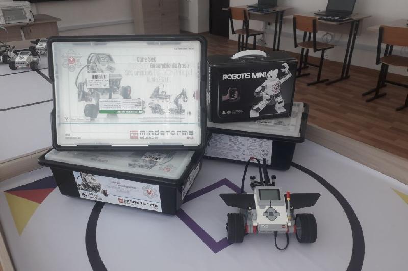 Үржар ауданының шалғай ауылында роботтехника кабинеті ашылды
