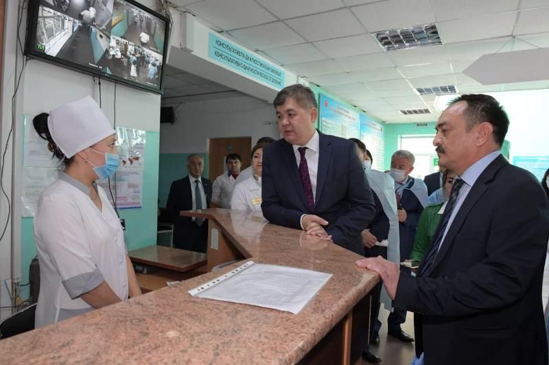 Қаскелең жұқпалы аурулар ауруханасы жабылады - министр Біртанов