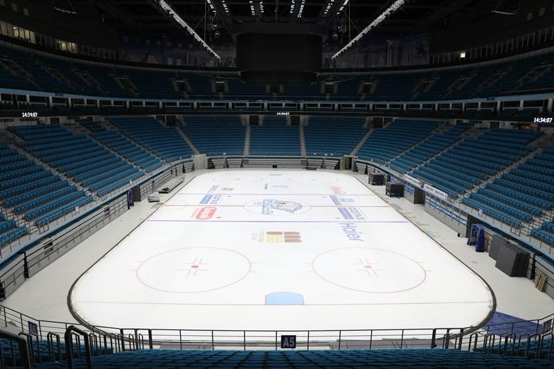 """冰球世锦赛举办球场 -- """"雪豹""""竞技场"""