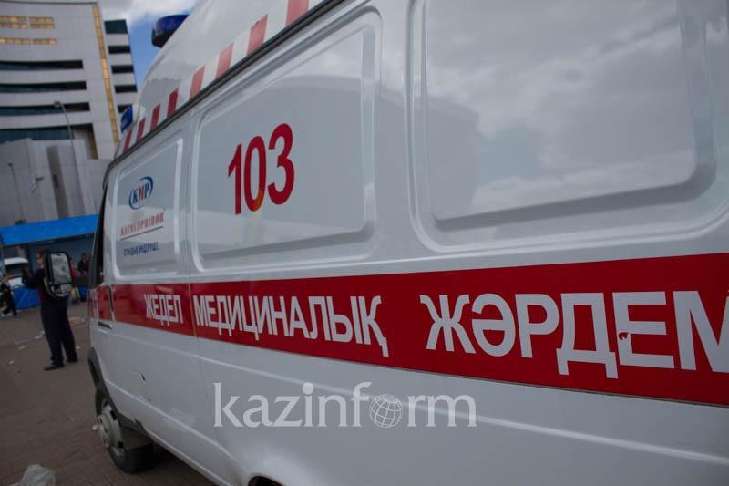 Школьница разбилась, упав с 8 этажа недостроенного здания в Талдыкоргане