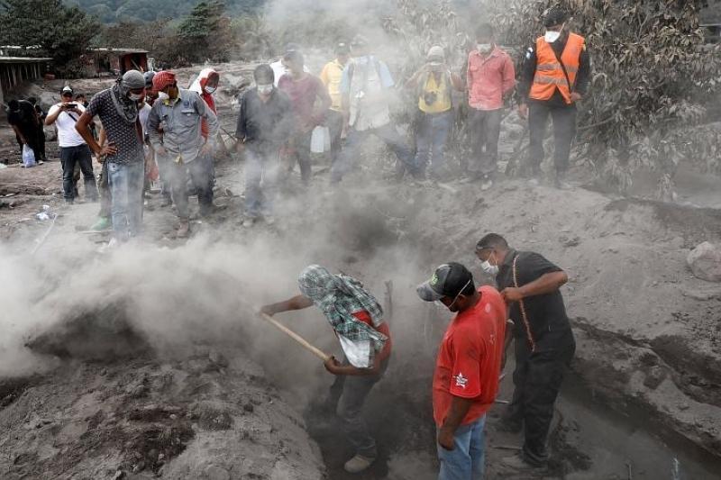 Число погибших от вулкана в Гватемале возросло до 109