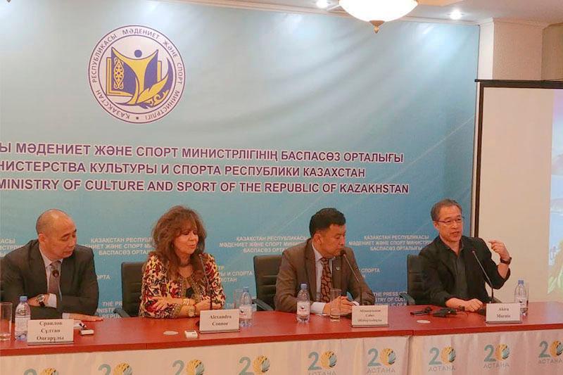 Мировые художники приехали на фестиваль «Нұр келбетті Астана»