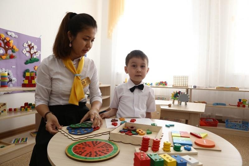 Уникальный детсад для особенных детей открыли в Актобе