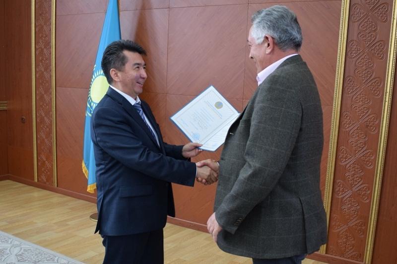 Лучших экологов наградили в Карагандинской области