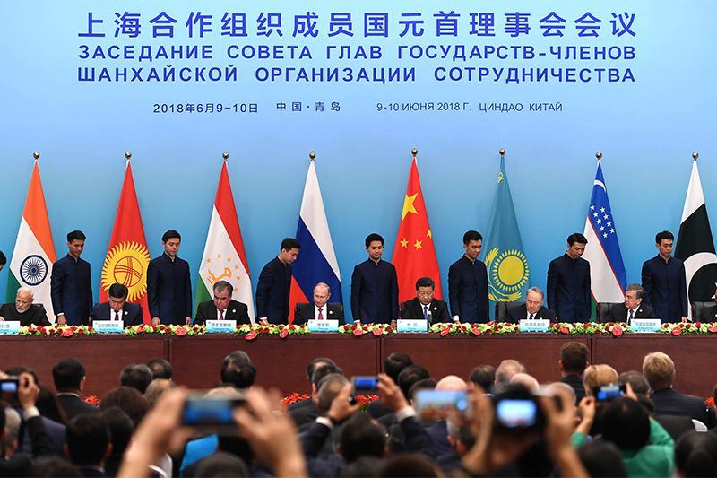 SCO heads of state ink Qingdao Declaration