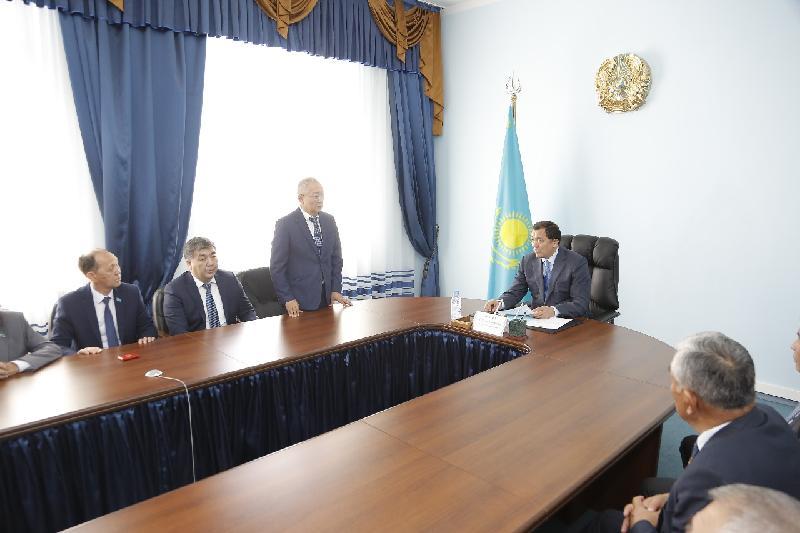 Сменился аким Махамбетского района Атырауской области