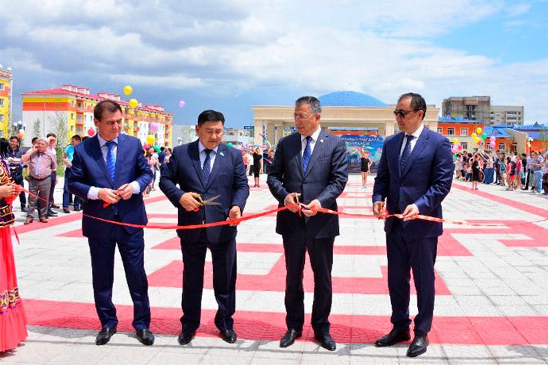 Микрорайон Астана открыли в Шымкенте