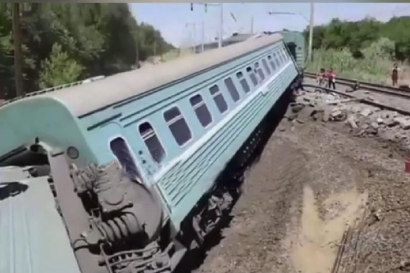ЧП с поездом: предварительную информацию сообщили в КЧС