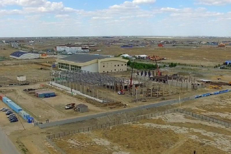 В Атырау строится Дворец молодежи и школьников