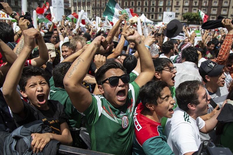 墨西哥首都轻微地震或因球队进球