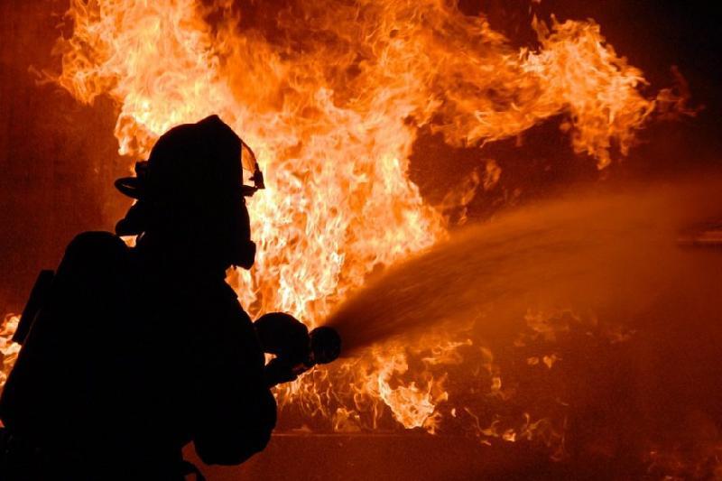 Мужчина получил ожоги во время пожара в Туркестане