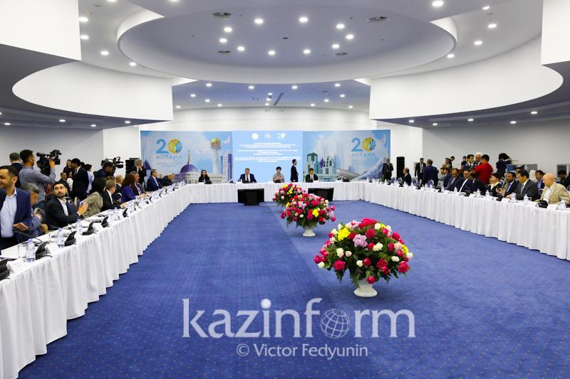 亚洲相互协作与信任措施会议公民论坛在阿斯塔纳举行