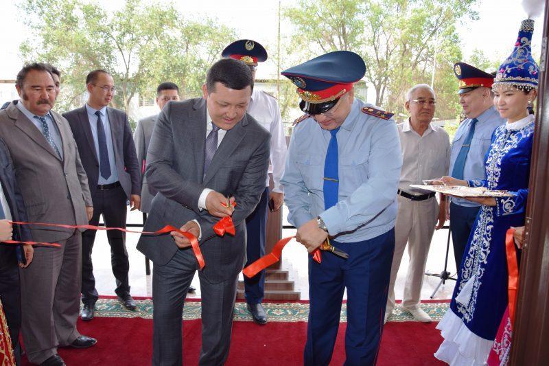 Новый ЦОУ открыли в городе Кульсары