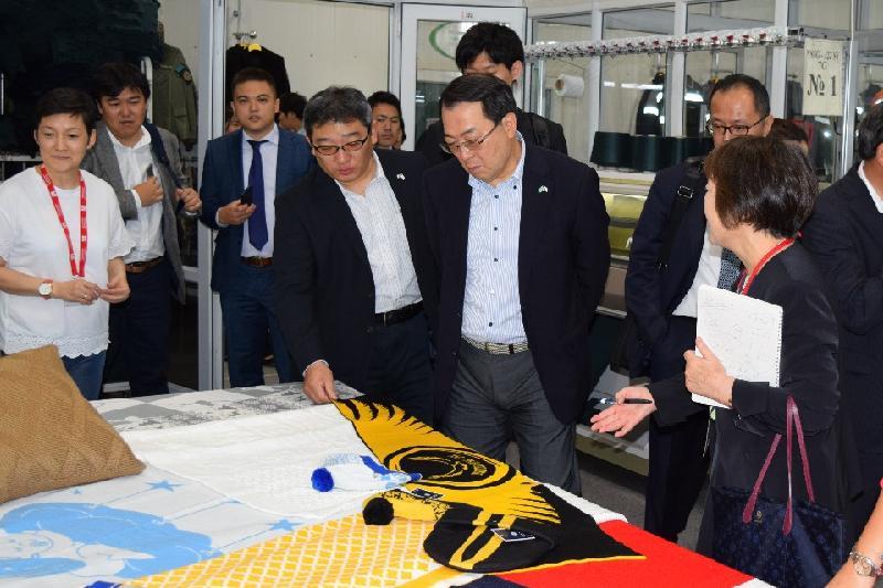 Предприниматели из Японии посетили ТОО «ПИК «Astana Ютария Ltd»