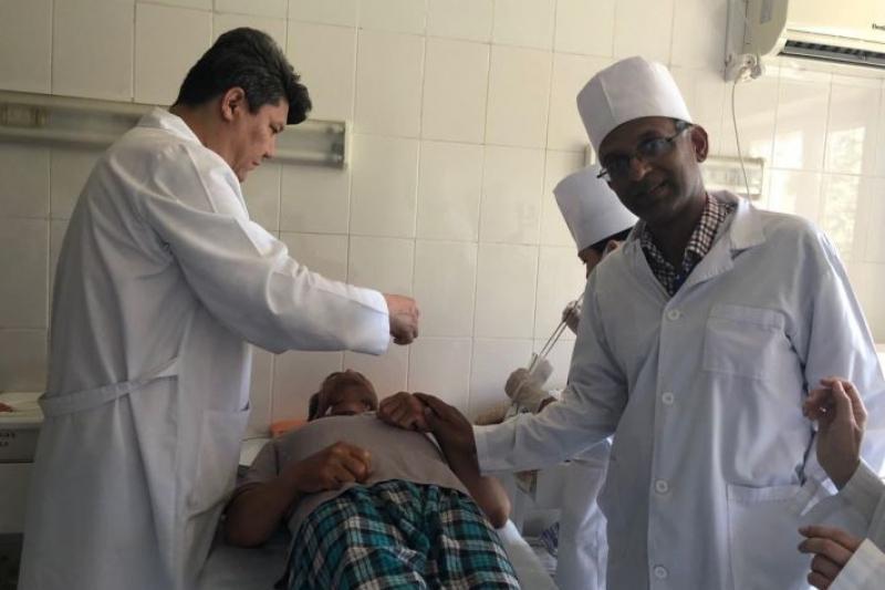 Зарубежные врачи проводят тренинги для туркестанских медиков