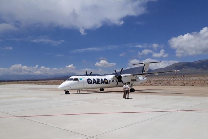 Казахстанцы смогут добираться до Иссык-Куля на самолете