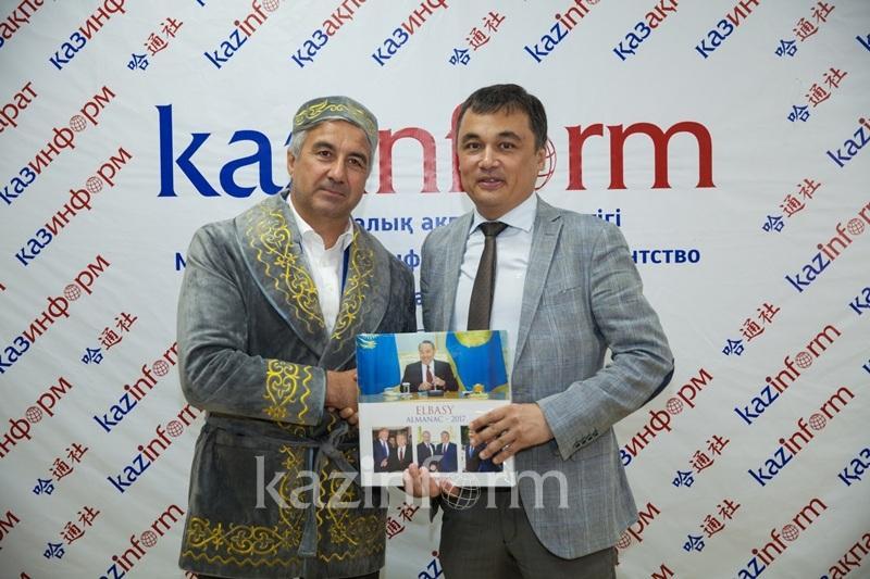 鞑靼斯坦副总理访问哈通社总部