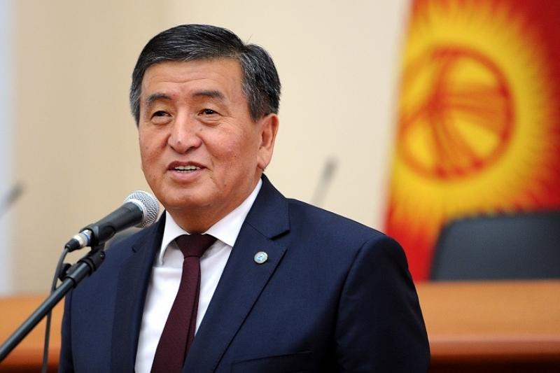 Kyrgyz President sends Astana 20th birthday greetings