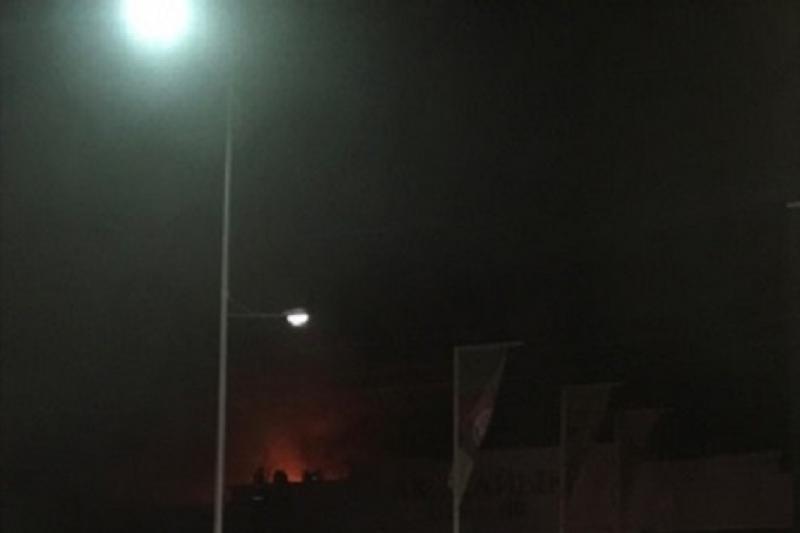 Ночной клуб горит в Атырау