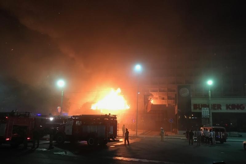Стали известны подробности пожара в гостинице в Атырау