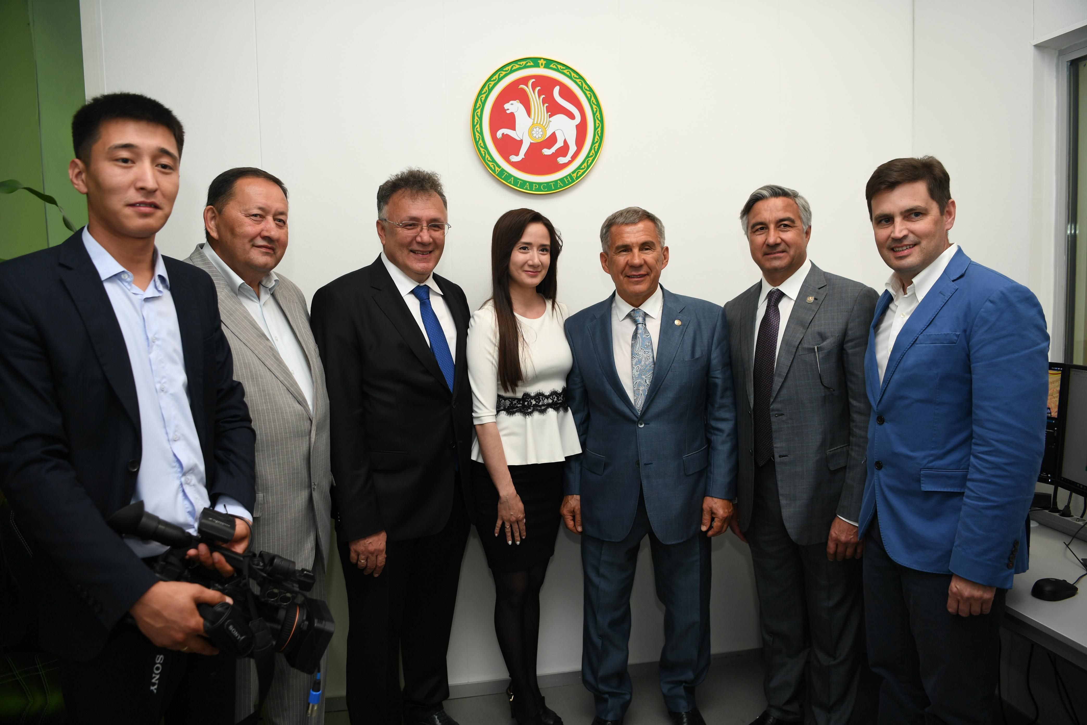 鞑靼斯坦广电公司在阿斯塔纳开设记者站
