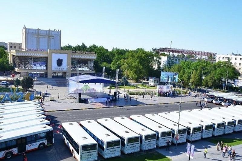 30 новых автобусов будут обслуживать социально-значимые маршруты Шымкента