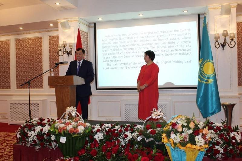 В столице Кыргызстана отметили юбилей Астаны