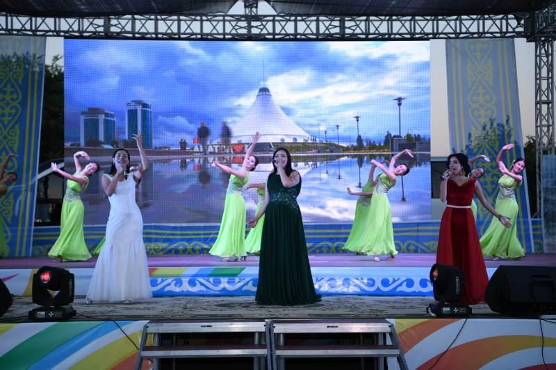 Turkestan mark Astana Day