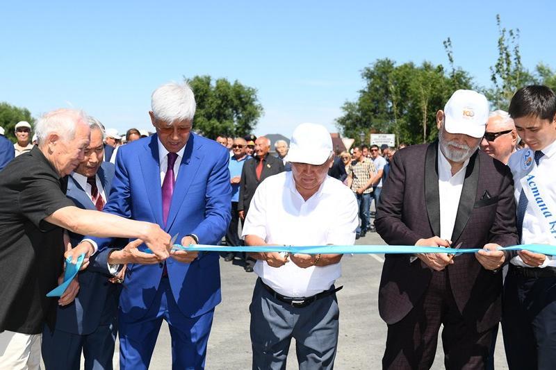 Талдықорғанда «Астана» даңғылы ашылды