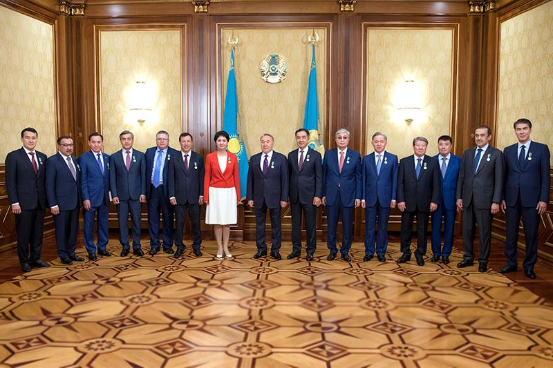 President Nazarbayev honored with '20 years of Astana' medal