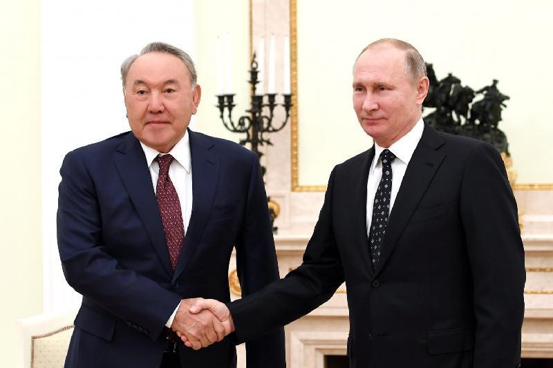 俄罗斯总统普京致电祝贺纳扎尔巴耶夫总统生日