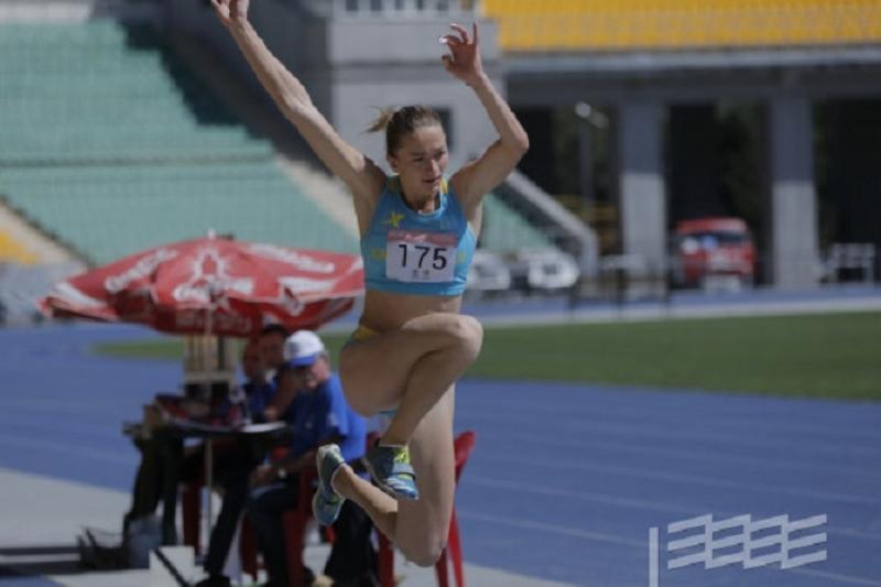 Казахстанская легкоатлетка выиграла медаль на чемпионате Израиля