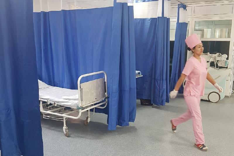 Сортировку пациентов внедрили в больнице в Туркестанской области
