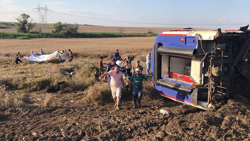 Түркияда вагон рельстен шығып кетті: 10 адам қаза болып, 73-і жарақаттанды