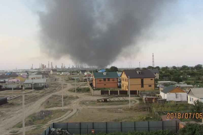 Стали известны причины пожара на Атырауском НПЗ