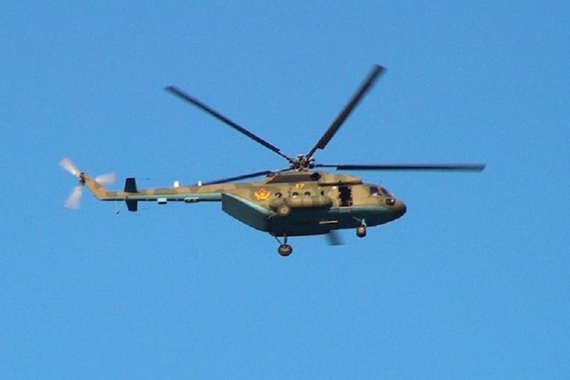 Казахстанский военный вертолет отправился в Кыргызстан на помощь коллегам