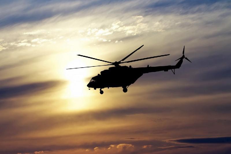 Казахстанские спасатели совершили два рейса на место крушения кыргызского вертолета