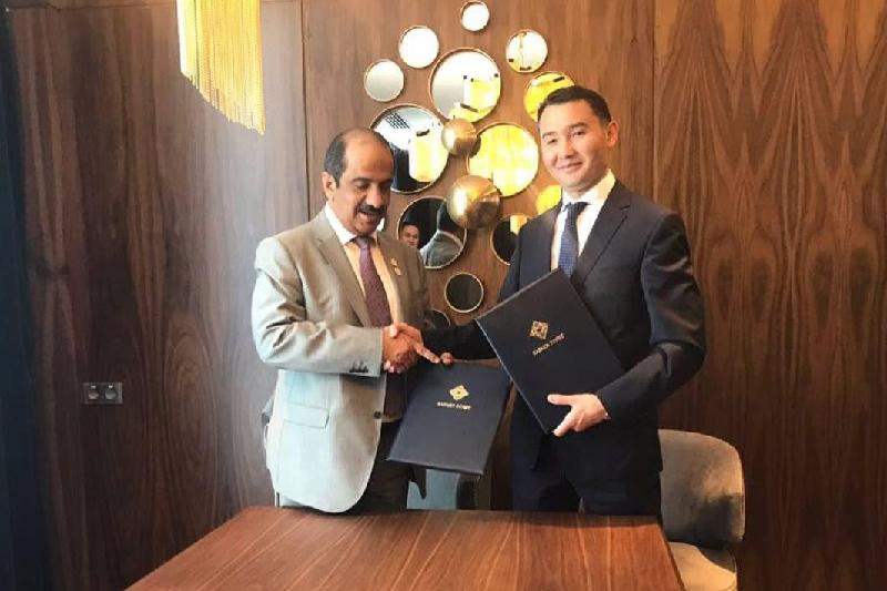 Kazakh Invest and UAEIIC to cement ties