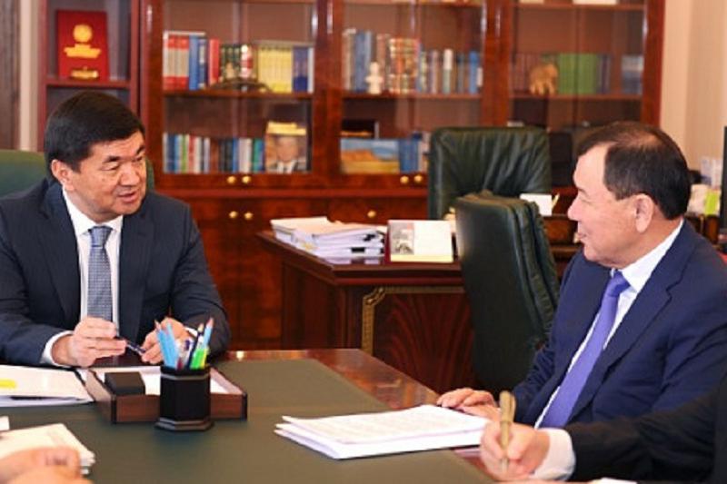 Посол Казахстана встретился с премьер-министром Кыргызстана