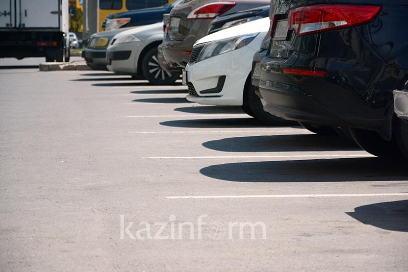 Платные парковки временно перестанут работать в центре Алматы