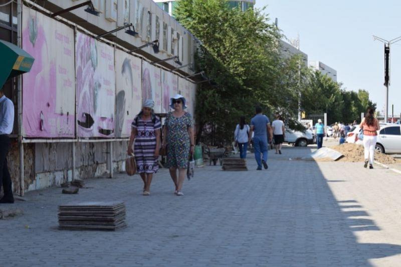 Благоустраивать свою территорию приучают бизнесменов в Атырау
