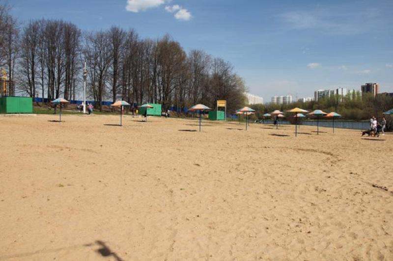 В Павлодаре открыли центральный пляж на Иртыше