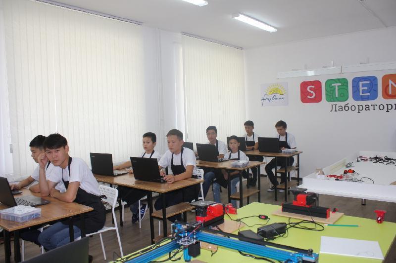 1300 таразских школьников будут обучаться в IT-классах