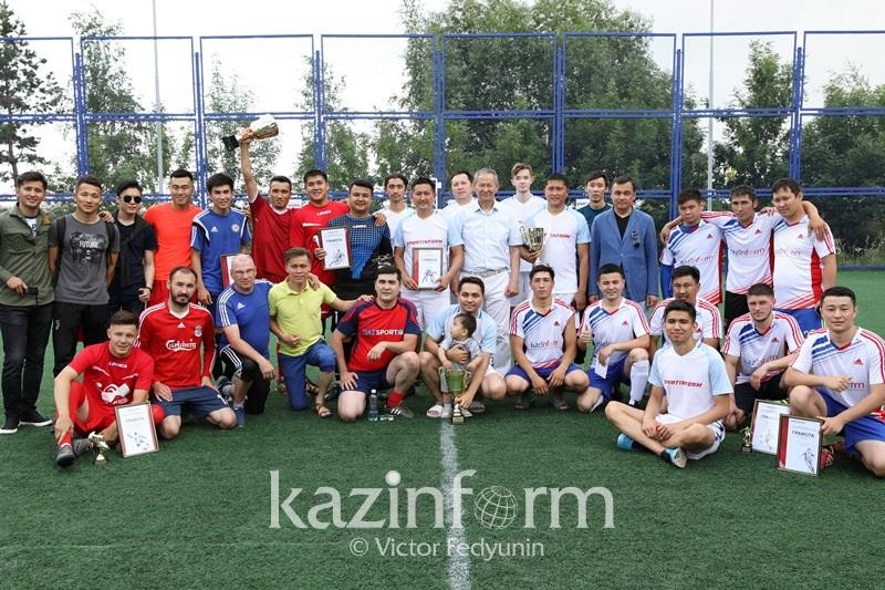 Team Kazinform 2nd at SPORTINFORM CUP in Astana