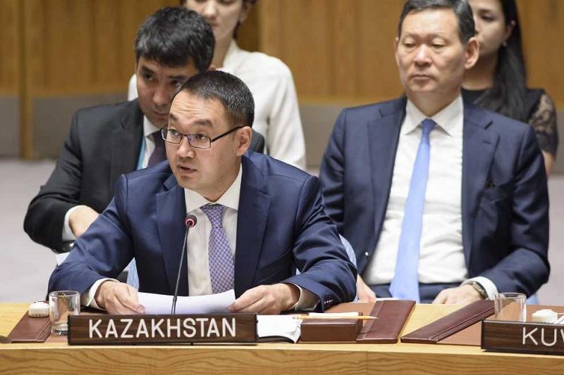 Kazakhstan presents UN Security Council its vision on climate change mitigation