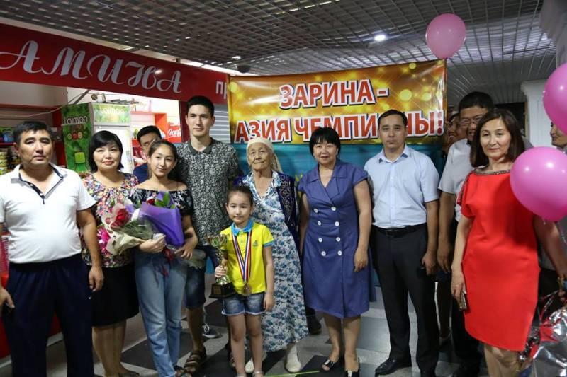 Девятилетняя шахматистка из Атырау стала чемпионом Азии