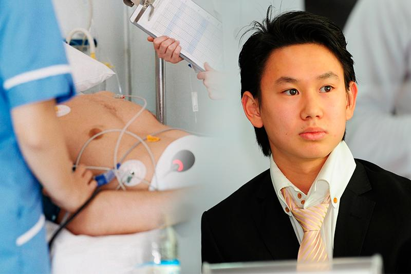 Kazakh figure skater Denis Ten stabbed, rushed to hospital