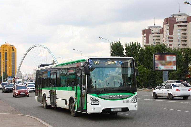 Астанада түйткілді автобус бағдарының мәселесі шешілді